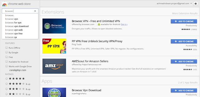 Membuka Situs Diblokir Menggunakan Google Chrome