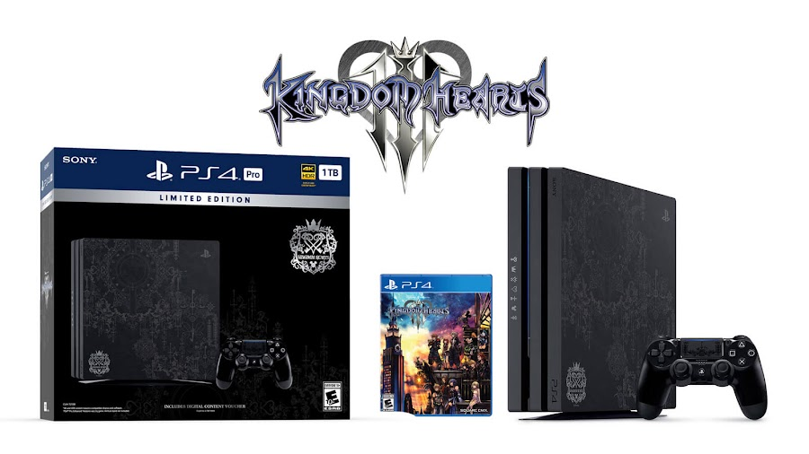 kingdom hearts 3 ps4 pro bundle limited edition