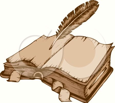 quill and paper clipart - photo #18