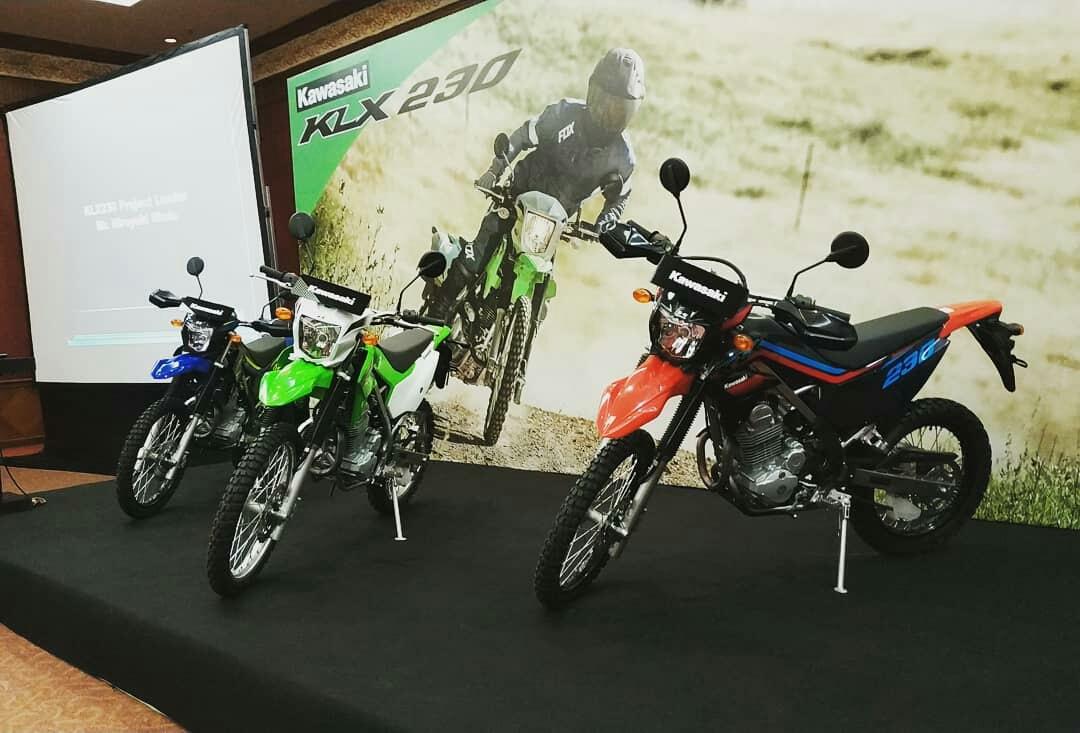 Kawasaki Keluarkan KLX 230 di Moment Jakarta Fair 2019