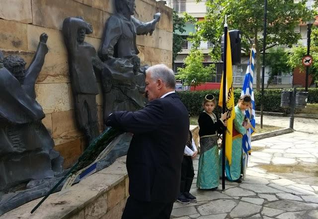 Σε κλίμα συγκίνησης οι εκδηλώσεις μνήμης για την Γενοκτονία στον δήμο Αμπελοκήπων Μενεμένης