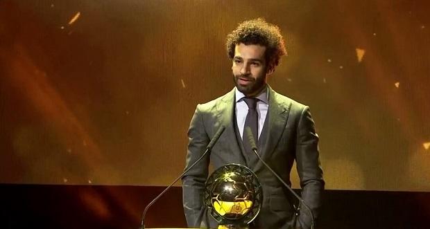 L'égyptien Mohamed Salah sacré meilleur joueur africain de l'année 2018