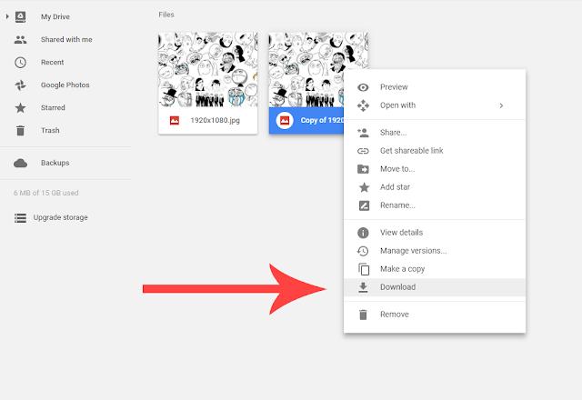 Cara Download File di Google Drive yang Limit Akses
