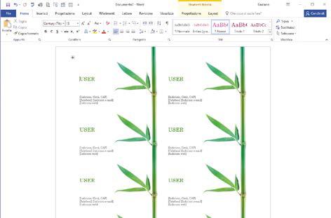 Come modificare il modello in Word