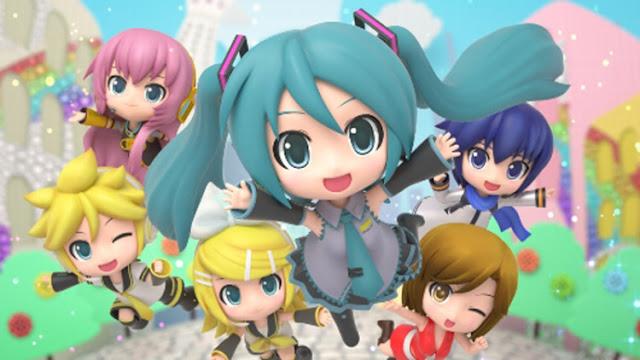 Hatsune Miku: Project Mirai DX 3DS cover 1