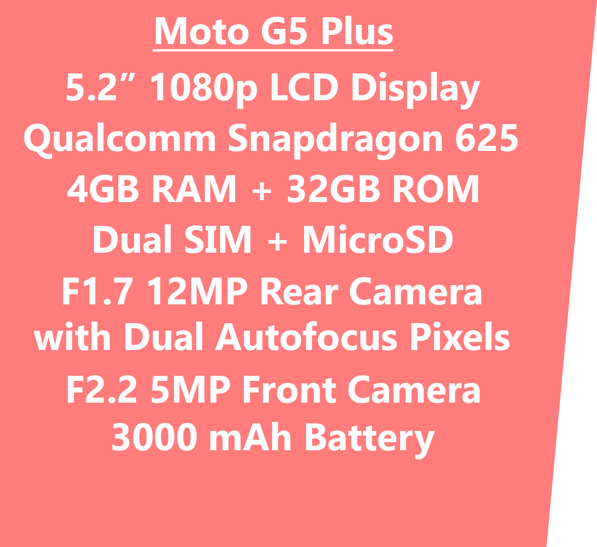 Motorola Moto G5 Plus Review: The Budget Smartphone with