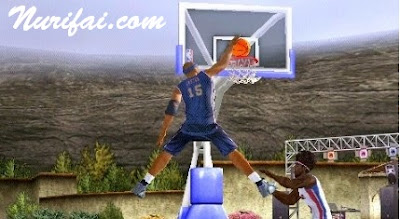 NBA Ballers Rebound PSP PPSSPP