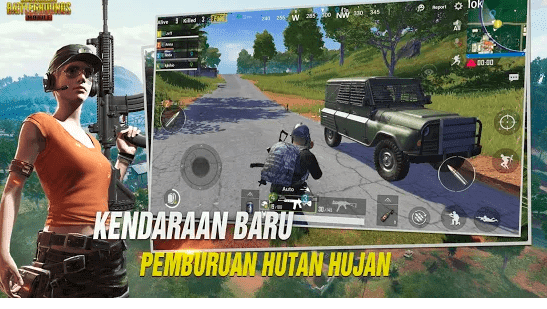 Game Battle Royale PUGB mencapai 100 juta+ unduhan di Play Store
