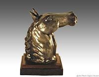 horse sculpture, equine art, clay sculptures