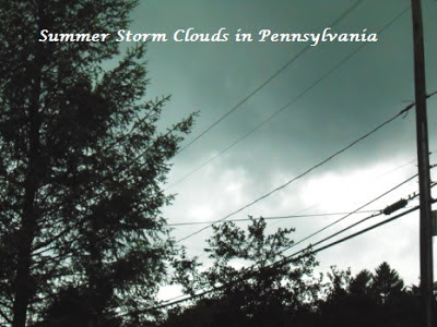 Stormy Summer Weather in Pennsylvania