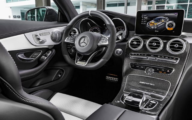 2017 Mercedes C63 AMG Coupe Interior
