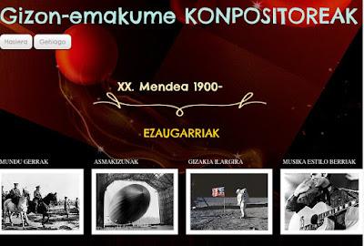 XX. mendeko musikariak