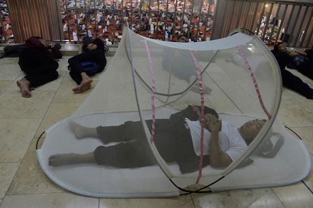 Gara-Gara Foto Ini, Peserta I'tikaf dari Indonesia Terkenal hingga Palestina
