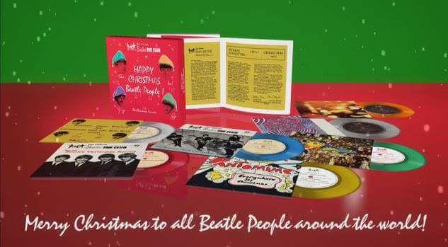 The Beatles Polska: The Beatles Christmas Record Box - zapowiedź nowego wydawnictwa