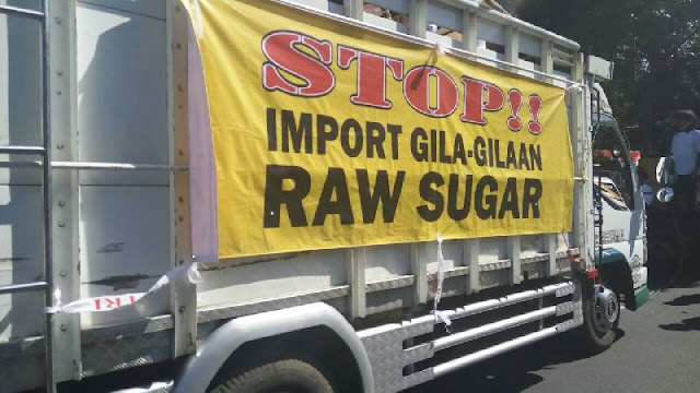 Unjuk Rasa di Depan Istana, Petani Tebu Desak Impor Gula Dibatasi