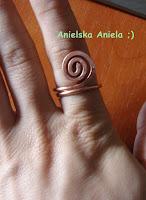 Diy tutorial / Jak zrobić pierścionek z drutu? / how to make a ring? / miedziany pierścionek