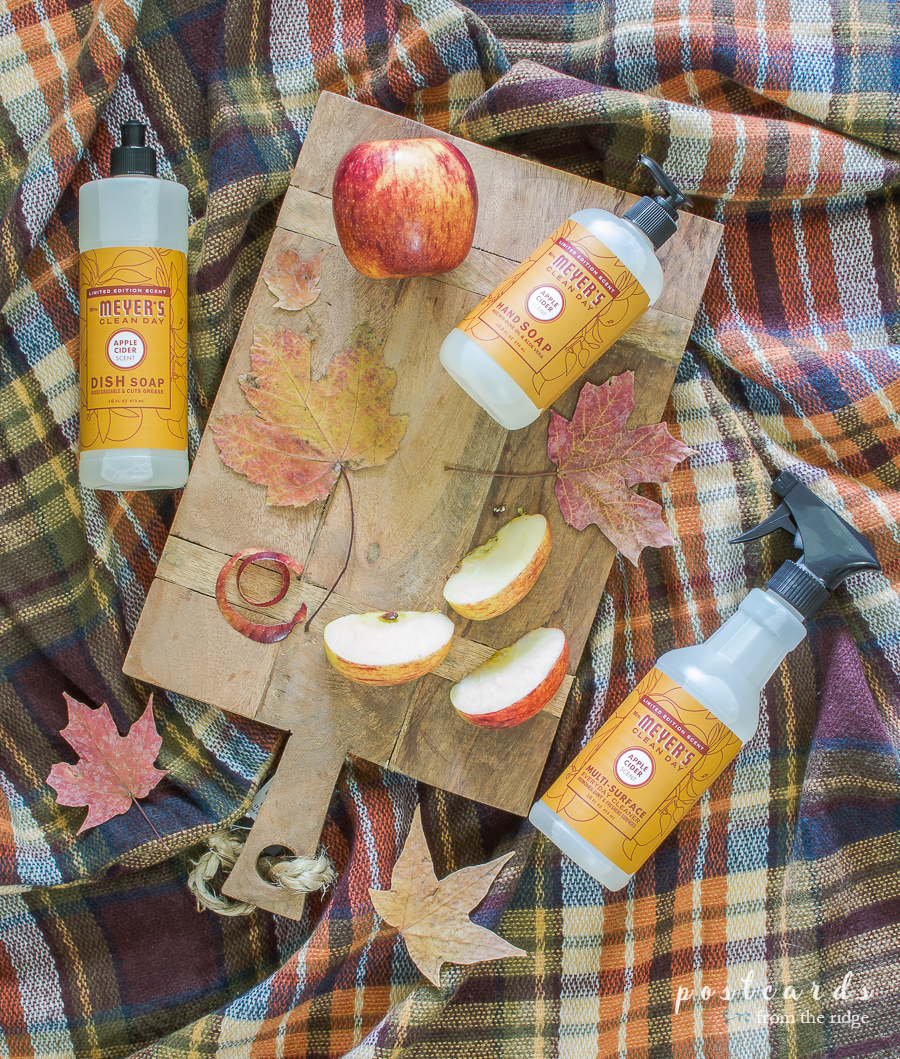 free mrs meyers apple cider scent