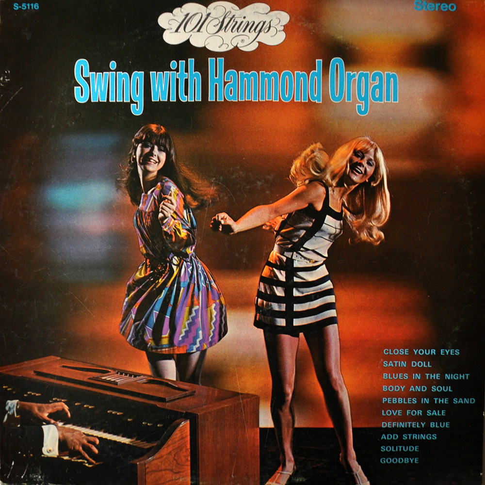 30 Vintage Sexy Hammond Organ Album Covers From The 1970s