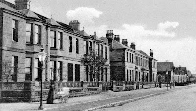 Old Photograph Crow Road Anniesland Glasgow Scotland