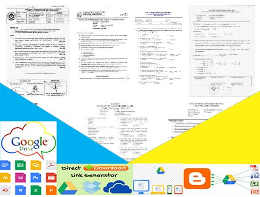 Contoh Format Soal Uts Smp Kelas 7 8 9 Semua Mata Pelajaran Lengkap Download Gratis Informasi