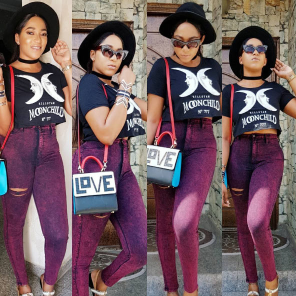Rukky Sanda is pretty, but not everyone will agree with what she just said