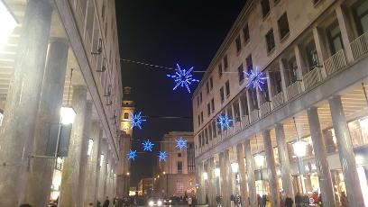 Torino Luci' Artista 2018 - Via Roma SENZA LUCI D'ARTISTA