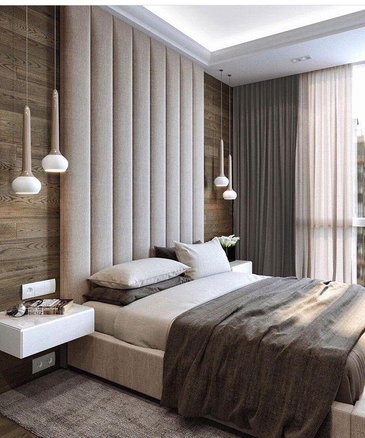 Rustic Master Bedroom Design Idea