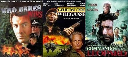 Lewis Collins kommandós filmek