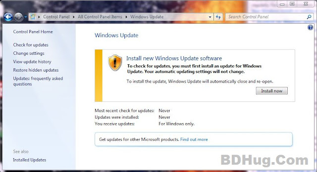 Turn On Windows Updates And Why? Step 2