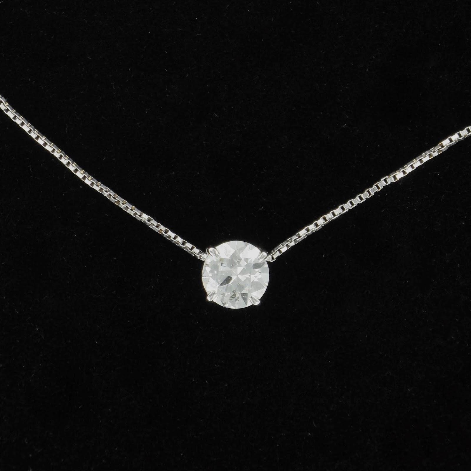 sortie en ligne achats magasins populaires Collier Avec Petit Diamant RZ26 | Jornalagora