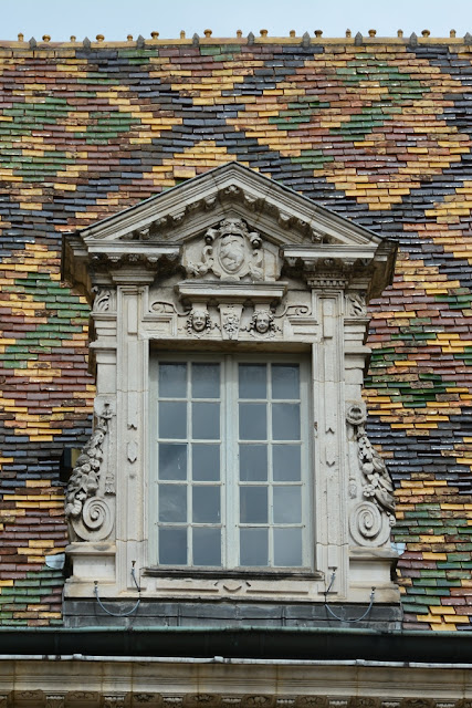 Dijon tiled roof