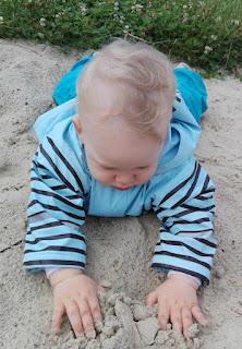 Joris im Sand