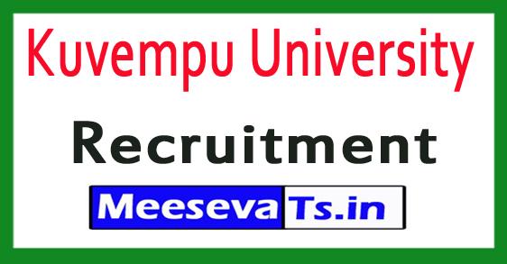 Kuvempu University Recruitment