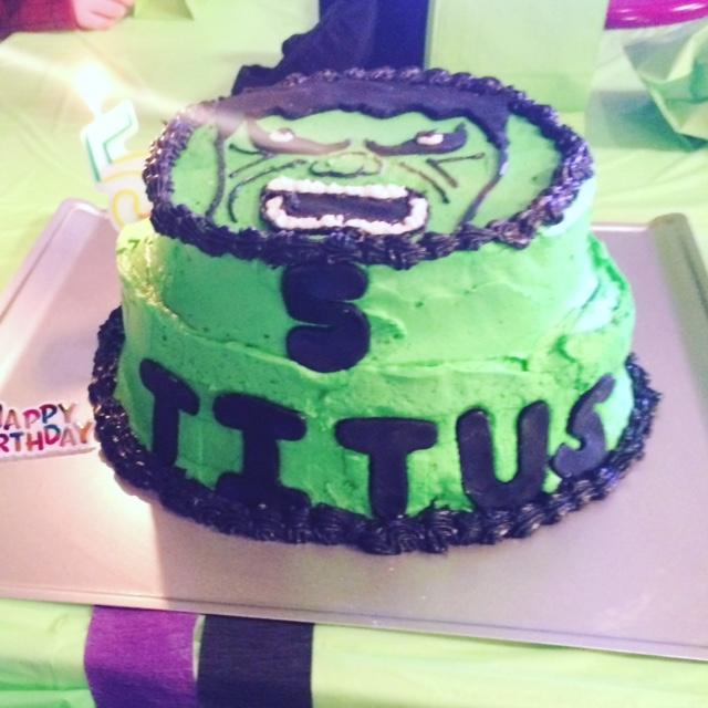 Hulk Smash 5th Birthday