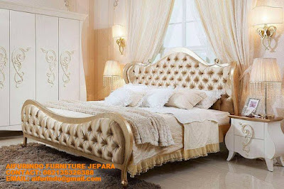 TEMPAT TIDUR JATI MEWAH-KAMAR TIDUR KLASIK MEWAH-PRODUSEN FURNITURE HOTEL INDONESIA-SUPPLIER FURNITURE HOTEL JATI CODE A121