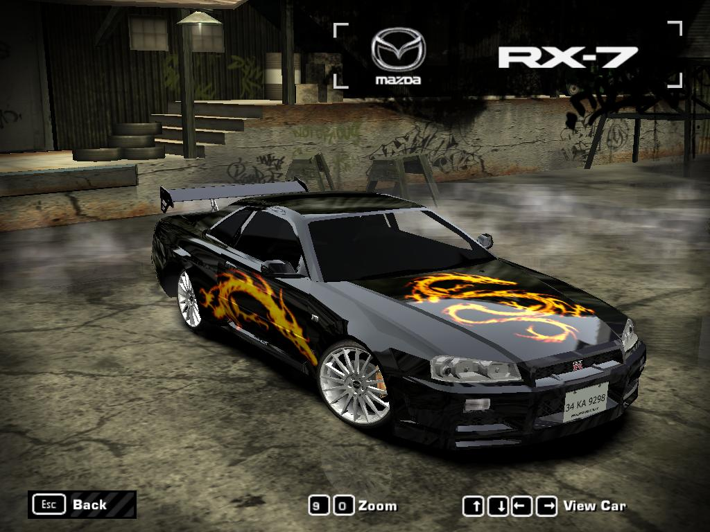Nfs Most Wanted Save Game With All Blacklist Cars Vinyls