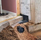 London, Stratford, St. Thomas Inside Basement Weeping Tile Drainage System Installed London