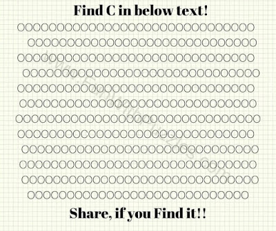 """Can you find the hidden """"C"""" in this Picture Puzzle Image?"""