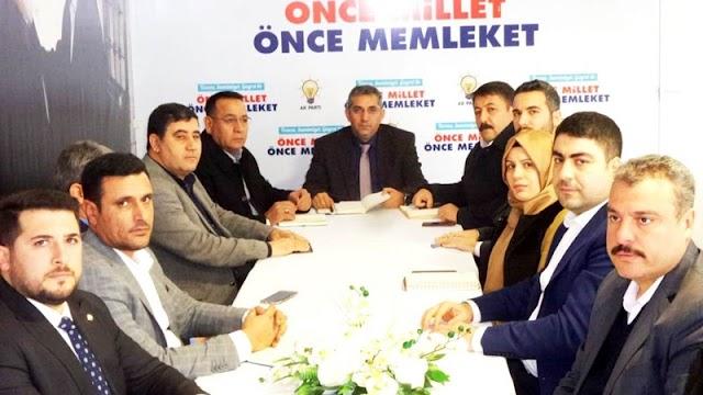 AK Parti SKM'de çalışmalar hız kazanıyor
