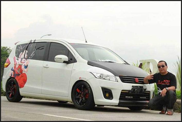 Kumpulan Modifikasi Suzuki Ertiga Putih Elegan