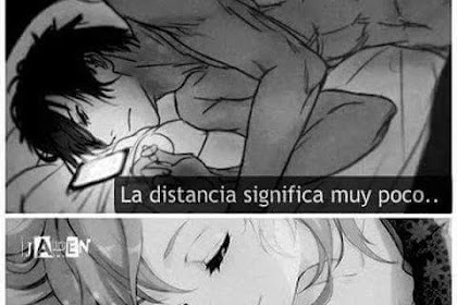 Imagenes De Amor Manga Con Frases