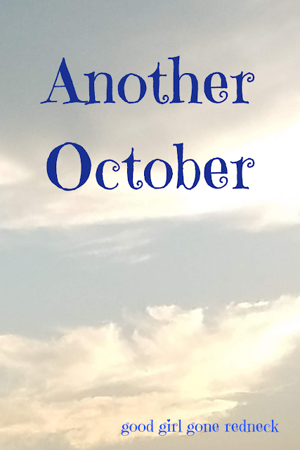 family, loss, grief, Daddy, emotions, love, memories, October,