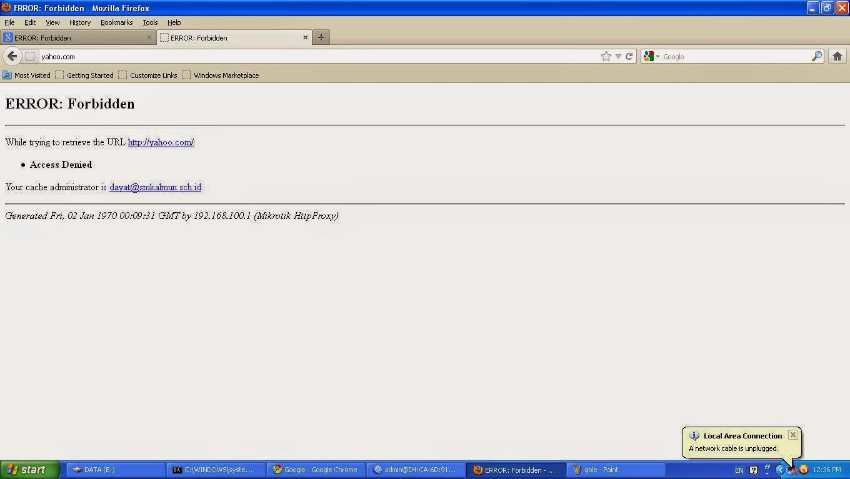 Block Situs Dengan Mikrotik
