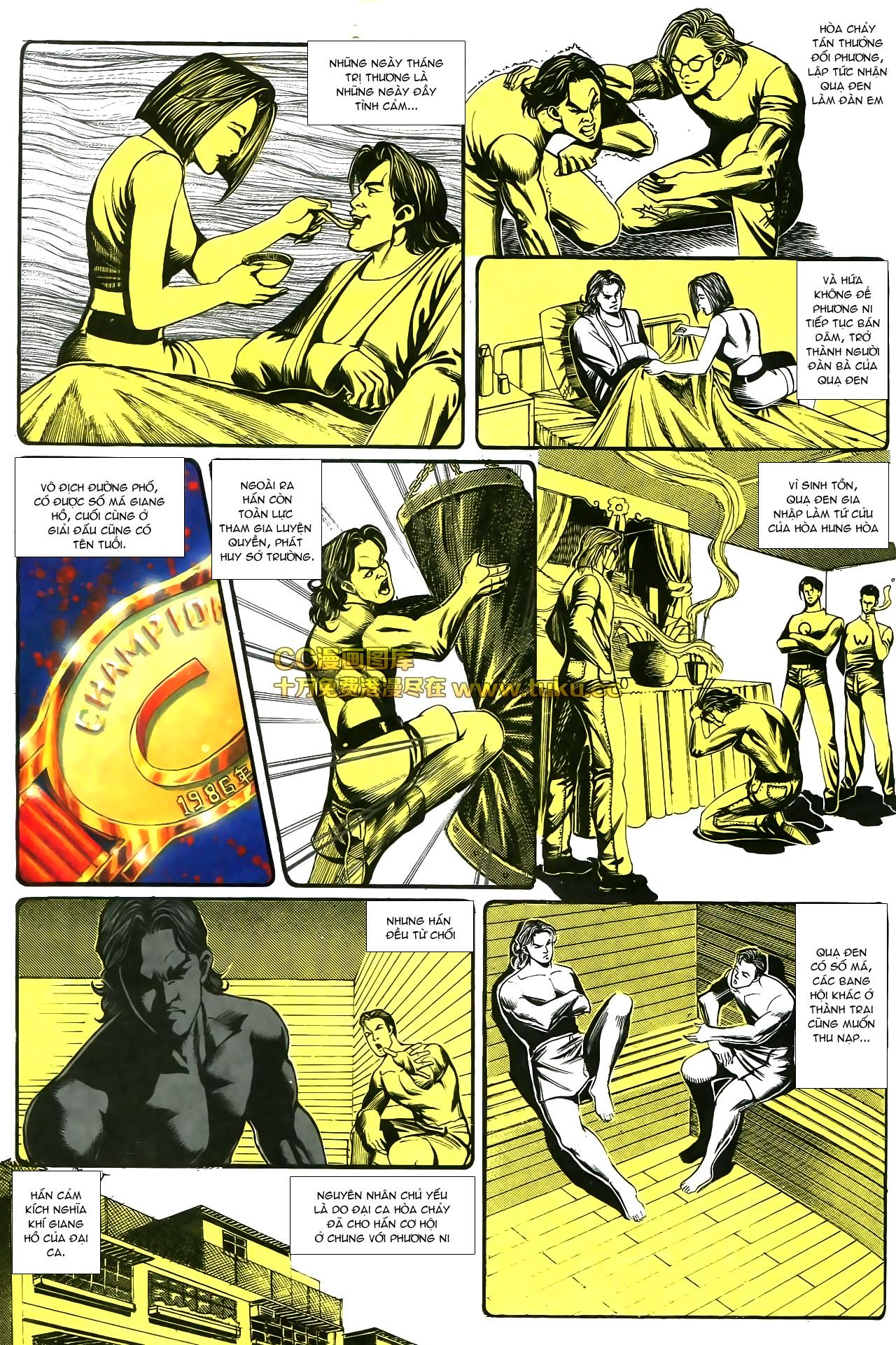 Người Trong Giang Hồ chapter 178: bối cảnh quạ đen trang 30