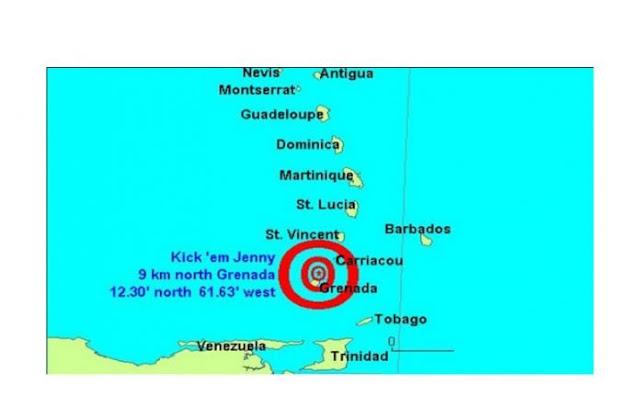 Emiten alerta naranja de tsunami, cerca de Venezuela, por volcán