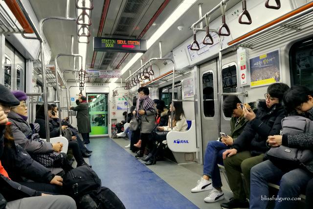 Metro Train Seoul