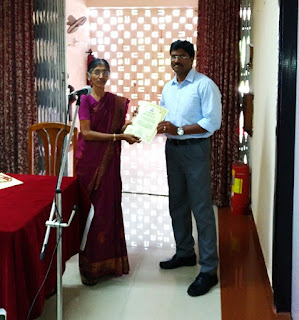 Felicitation of Shri V. Rabby, EA, AIR, Alappuzha