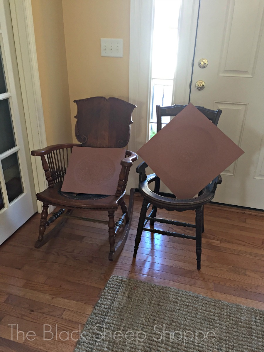 Chairs waiting for repairs