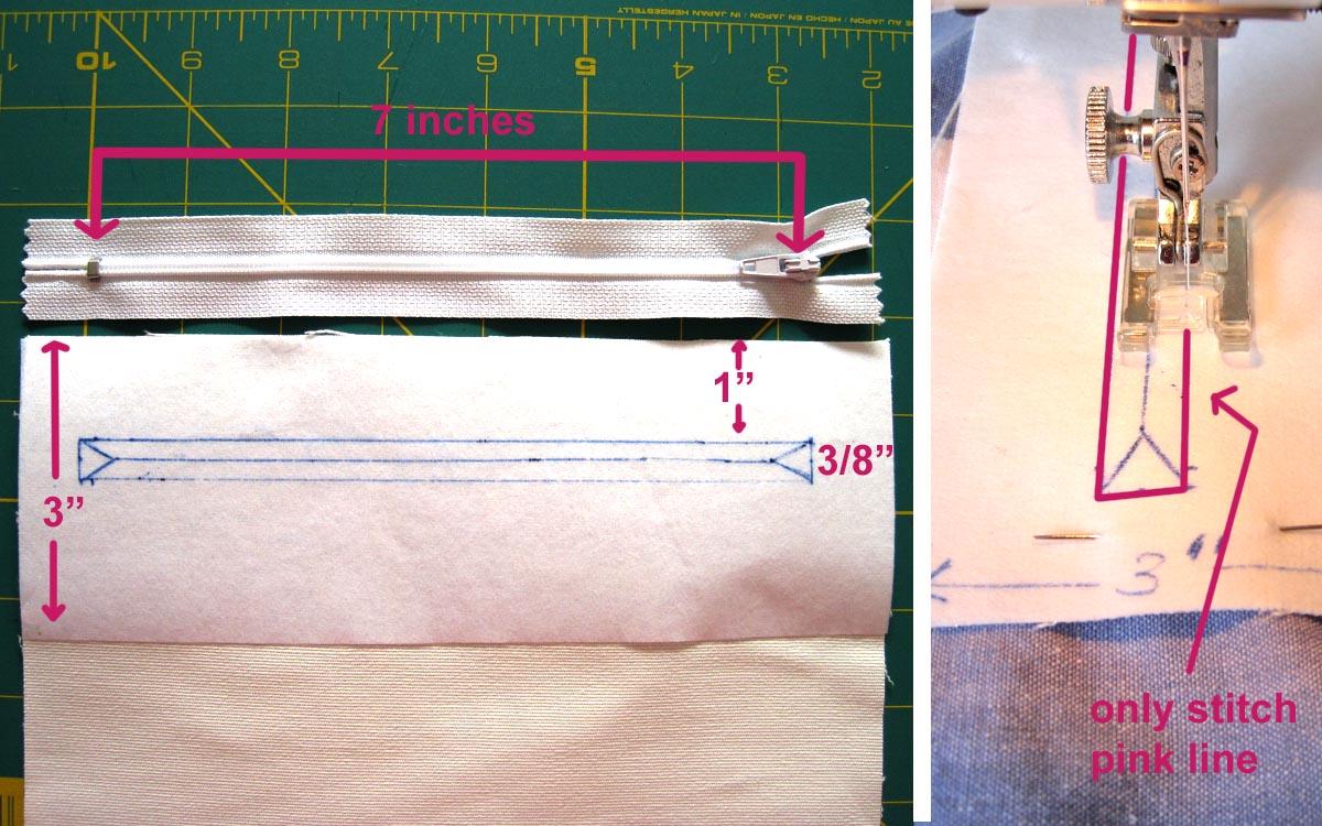 adriennkuckója  Cipzáros zseb készítése egyszerűen ( ) 9c0a60a169
