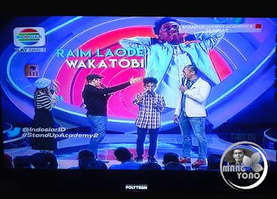 Raim Laode Wakatobi Stand Up Comedy Academy 2